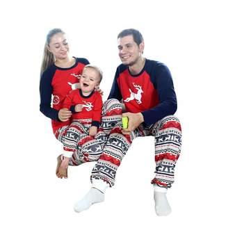 Forart Christmas Elk Family Matching Pajamas Set Holiday Sleepwear Sets d6d7655c1