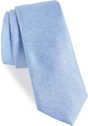 1901 Andrews Solid Skinny Silk Tie