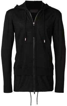 Diesel Black Gold zipped hooded sweatshirt