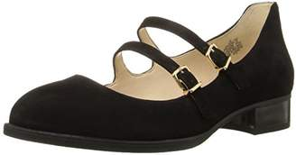 Nine West Women's Nalita Suede Mary Jane Flat