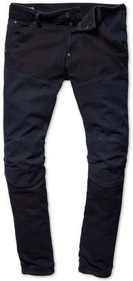 G Star Mens Two-Tone Moto Jeans