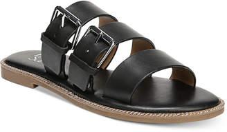 Franco Sarto Kasa Strappy Slip-On Flat Sandals Women's Shoes
