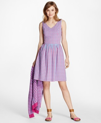 Brooks Brothers Gingham Dress