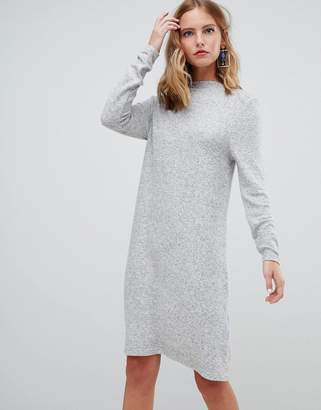 Only brushed knitted sweater dress