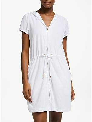 John Lewis   Partners Zip Towelling Dress e8b78a71b