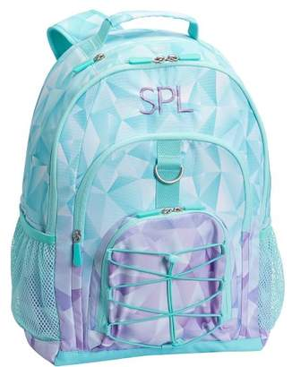 Pottery Barn Teen Gear-Up Aqua Facet Backpack