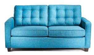 Simmons Carly Twin Sofa Bed with Beautysleep Mattress