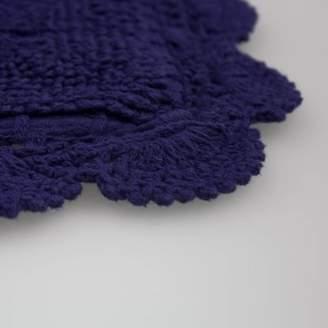 Laura Ashley Crochet 100% Cotton Bath Rug