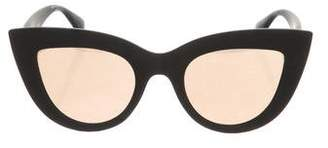 Quay Cat-Eye Mirrored Lenses