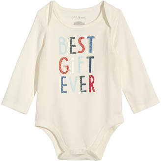 First Impressions Baby Boys & Girls Best Gift Ever Bodysuit, Created for Macy's
