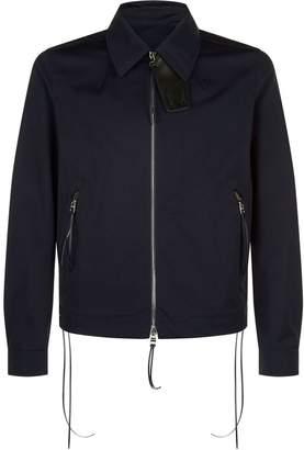 Alexander McQueen Lace-Up Bomber Jacket