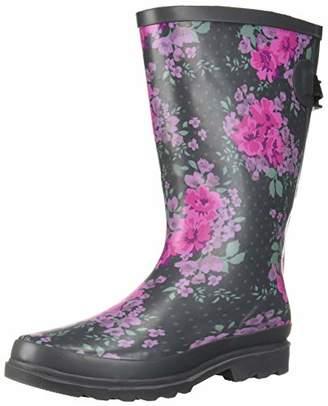 Western Chief Women's Wide Calf Rain Boot, 10 M US