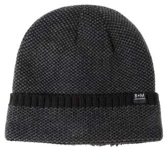 Bickley + Mitchell Cuffed Faux Fur Lined Beanie