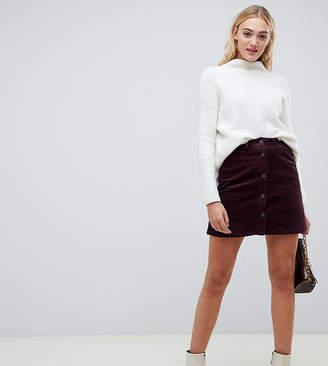 53b8d9e93 Vero Moda Tall Button Through Cord Skirt