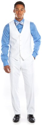 Savile Row Slim-Fit White Tuxedo Vest - Men