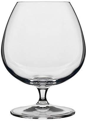 Luigi Bormioli Set of 4 Crescendo Cognac Glasses