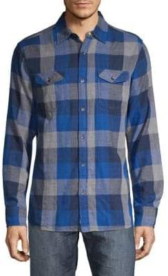 Benton Patch Pocket Check Shirt