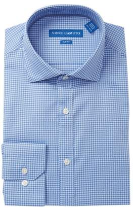 Vince Camuto Houndstooth Slim Fit Dress Shirt