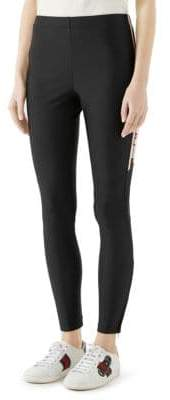Gucci Stripe Technical Jersey Leggings