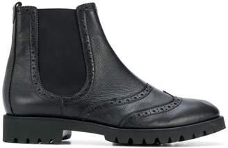Högl flat chelsea boots