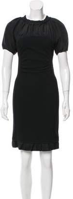 Nina Ricci Gathered Mini Dress