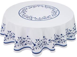 """Avanti Portmeirion Blue Portofino 70"""" Round Tablecloth"""