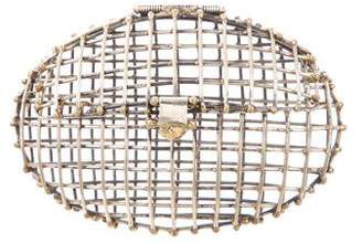 Anndra Neen Oval Caged Clutch