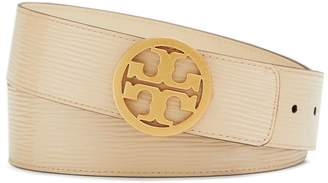 "Tory Burch 1 1/2"" REVERSIBLE PATENT LOGO BELT"