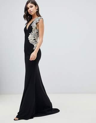 3b99123e990 Forever Unique Embellished Maxi Dress - ShopStyle UK