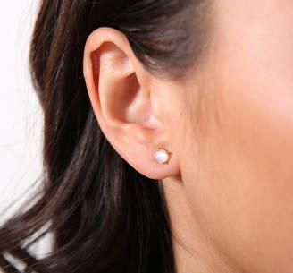 2022cda04 Sarah Hickey Rainbow Moonstone Stud Earrings