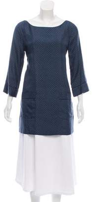 Marc Jacobs Printed Silk Tunic