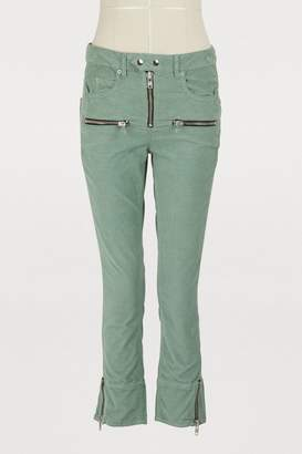 Etoile Isabel Marant Alone cotton jeans