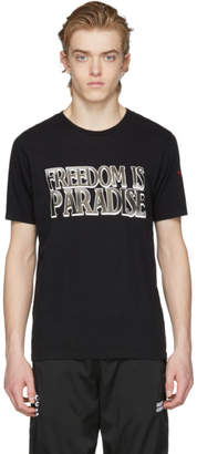 Resort Corps SSENSE Exclusive Black Freedom Is Paradise T-Shirt