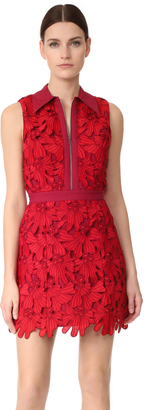 alice + olivia Ellis Zip Front Dress $495 thestylecure.com