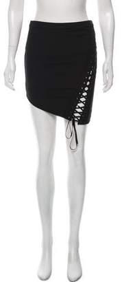 Mason Mini Lace-Up Skirt