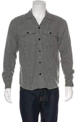 Closed Woven Button-Up Shirt