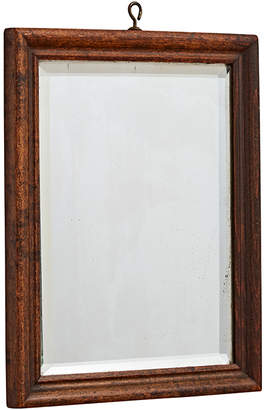 Rejuvenation Small Shaving Mirror w/ Wooden Frame