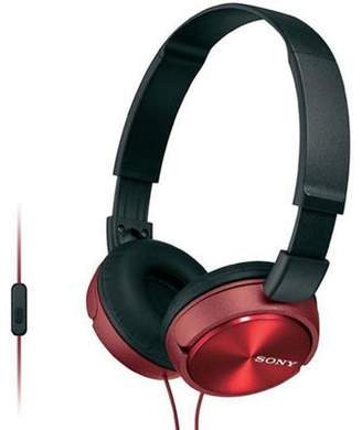 Sony Mdr-Zx310Ap Sound Monitoring Headphones, Red