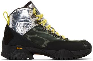 ROA Silver and Multicolor Andreas Boots