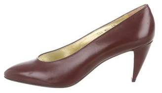 Walter Steiger Leather Pointed-Toe Pumps