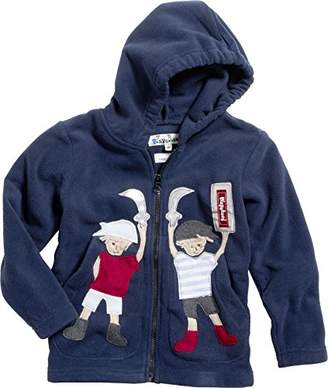Playshoes Boy's Full Zip Fleece Jacket with Hood,(Manufacturer Size:140)