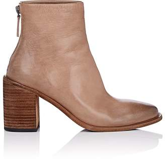 Marsèll Women's Distressed Leather Ankle Boots