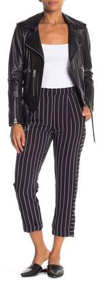 Elodie Striped Cuffed Hem Trousers