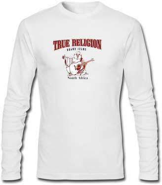 True Religion Classic long sleeve Tops T shirts Classic For Mens Long Sleeves