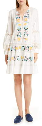 Tory Burch Long Sleeve Boho Dress