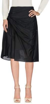 Haute 3/4 length skirt