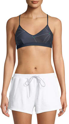 The Upside Andie Stars V-Neck Sports Bra