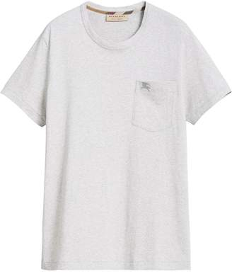 Burberry Pocket detail cotton jersey T-shirt