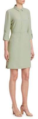 Akris Punto Roll-Sleeve Shirtdress