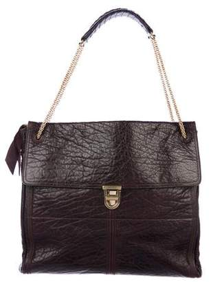 Nina Ricci Leather Flap Bag
